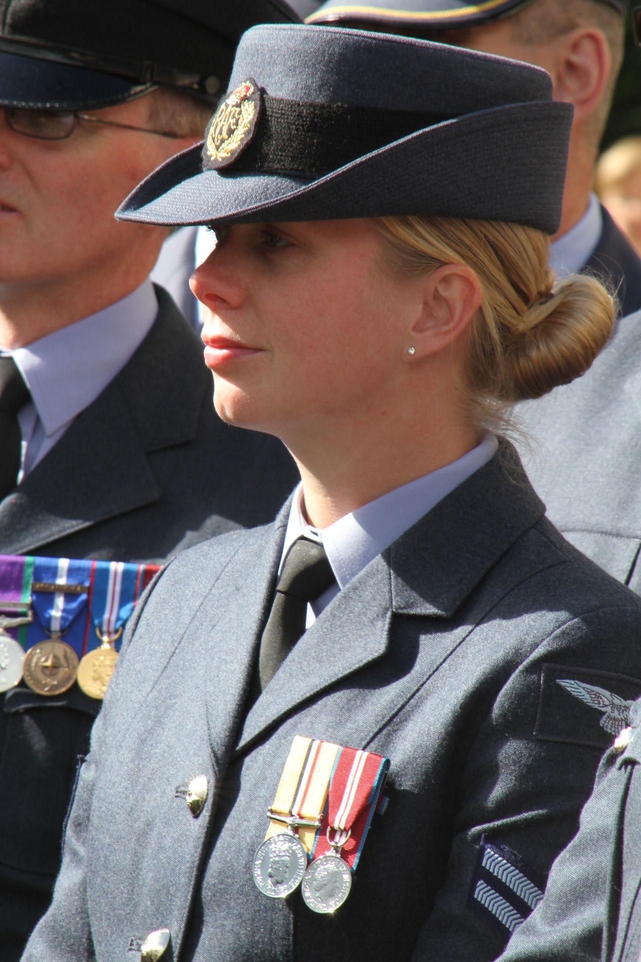 Female corporal RAF WomenofStripesandBadges Photo