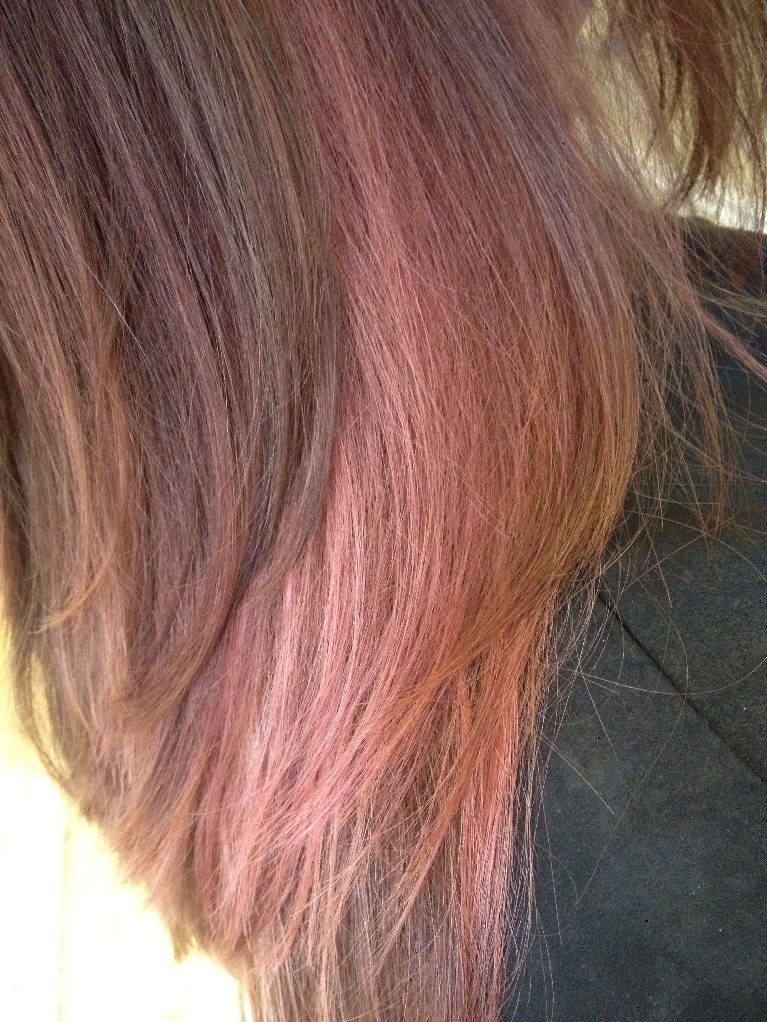Pink Pastel Creative Color Using Aveda Pure Pigment Hair Colour
