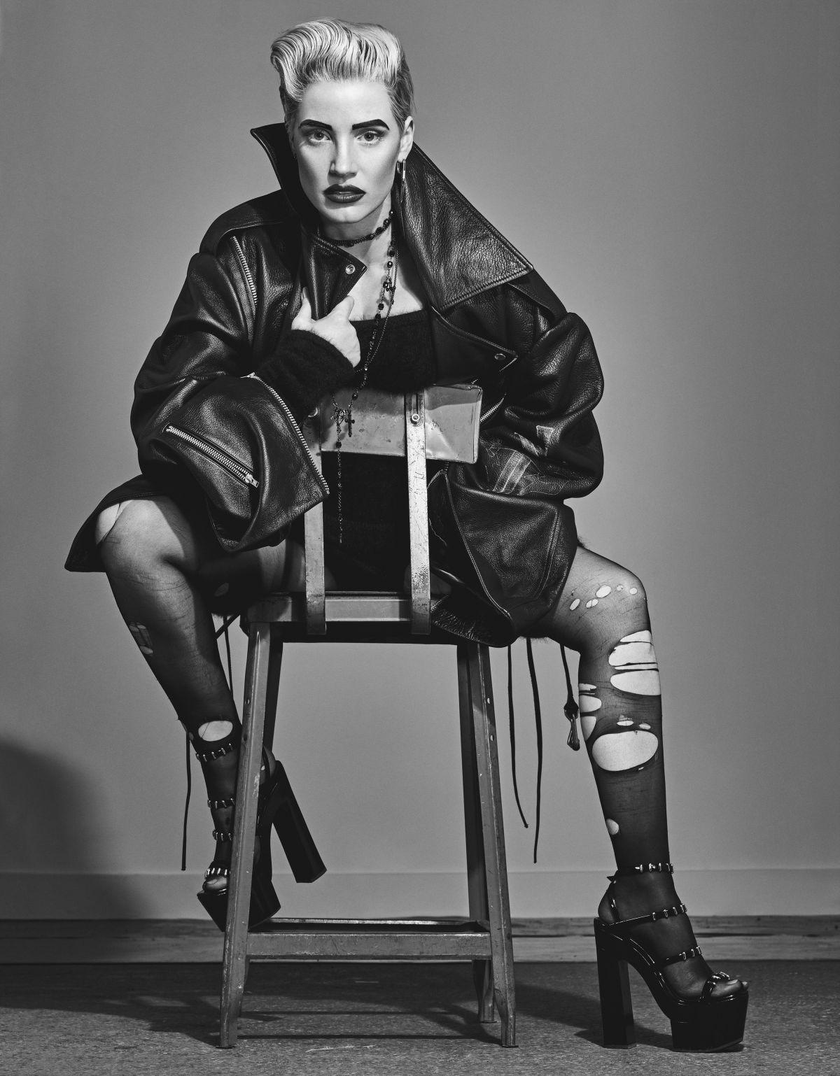 Jessica Chastain – W Magazine Photoshoot By Steven Klein 12 OCT, 2015