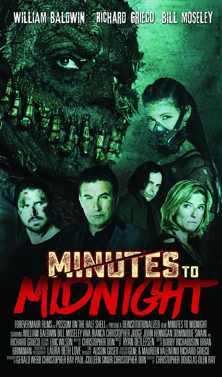 Minutes to Midnight (2018) Horror, Action Movie Directed
