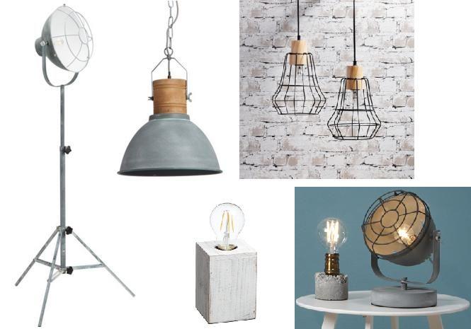 Industriele Lampen Goedkoop : Industriële lampen voor een stoere woonstijl goedkope en moderne