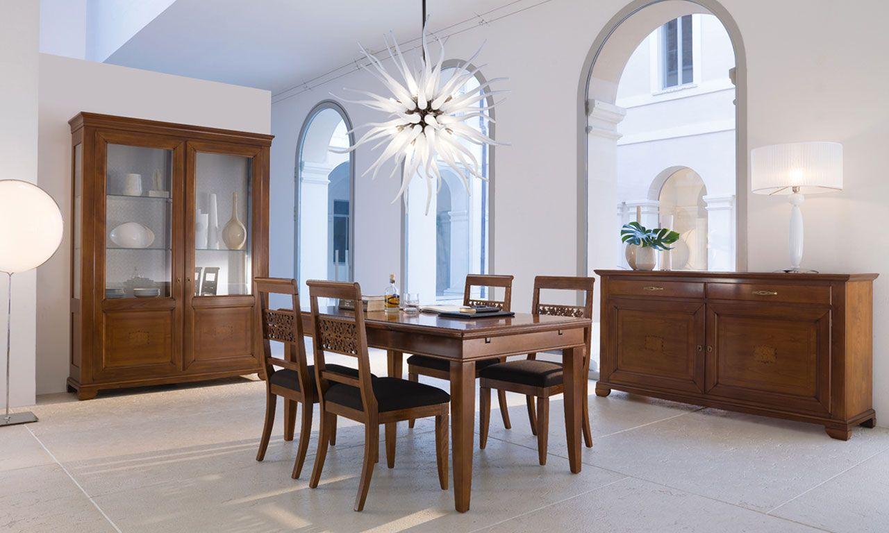 Classic dining room by Piombini | Sala da pranzo classica ...