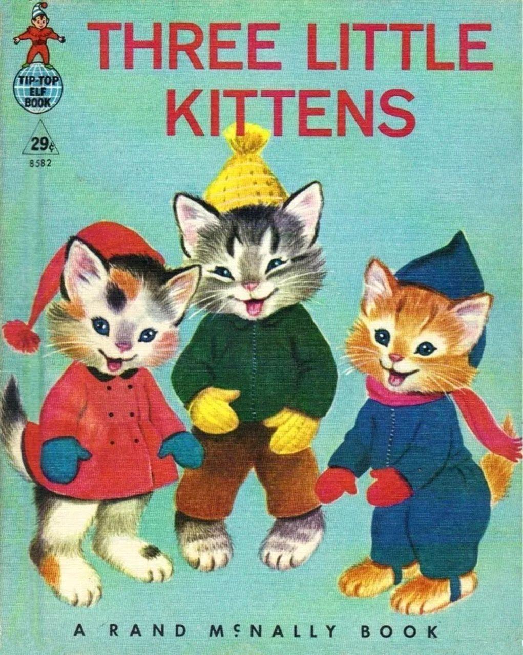 Not Found Little Kittens Vintage Children S Books Children S Book Illustration