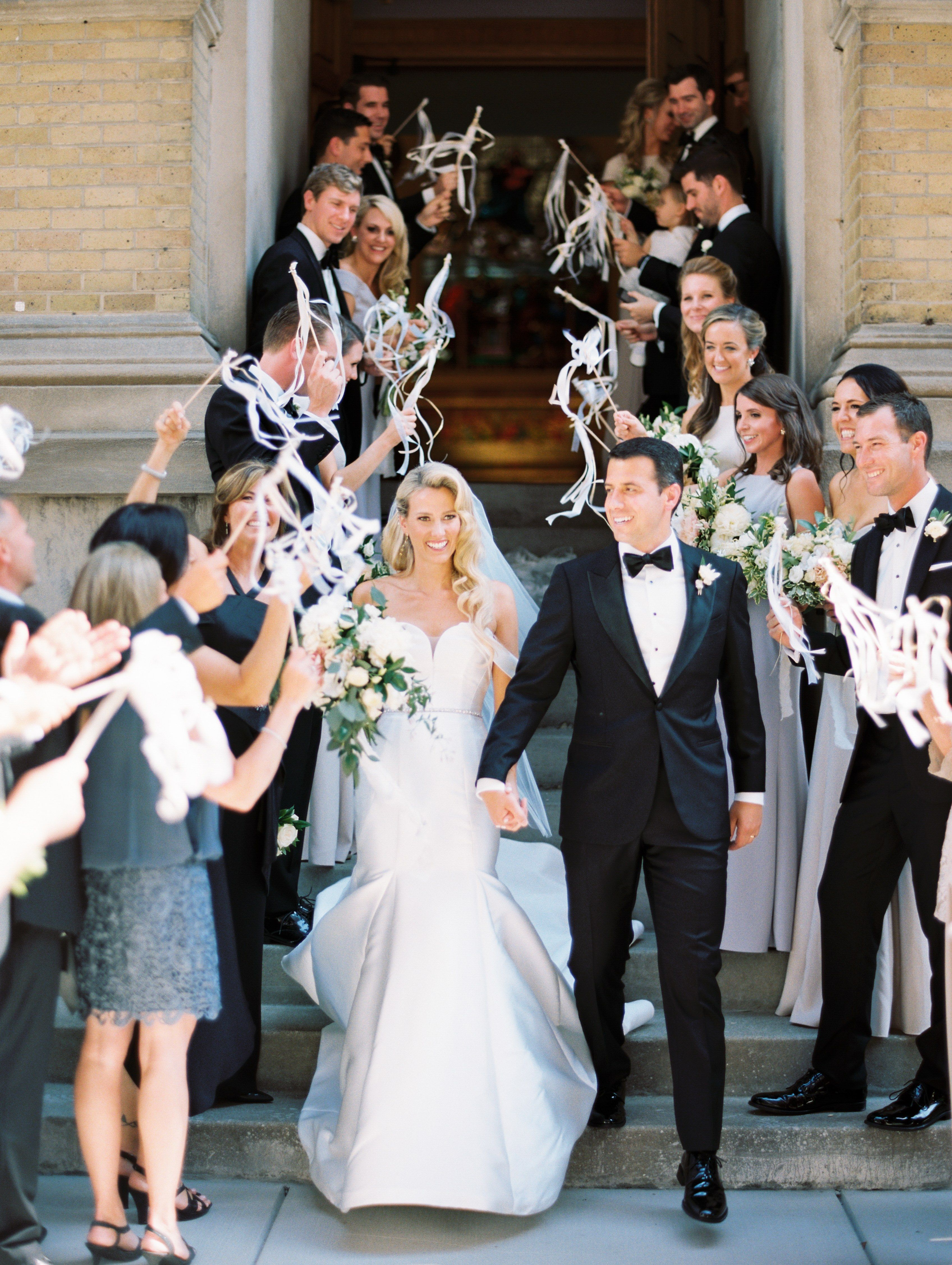 Chicago wedding dresses  A Timeless Chicago Wedding in Lincoln Park  Real Weddings on Blogs