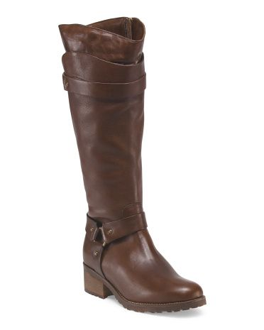 c9071bd9d FABIANELLI Made in Italy Leather High Shaft Boot Bootie Boots, Shoe Boots,  Tj Maxx