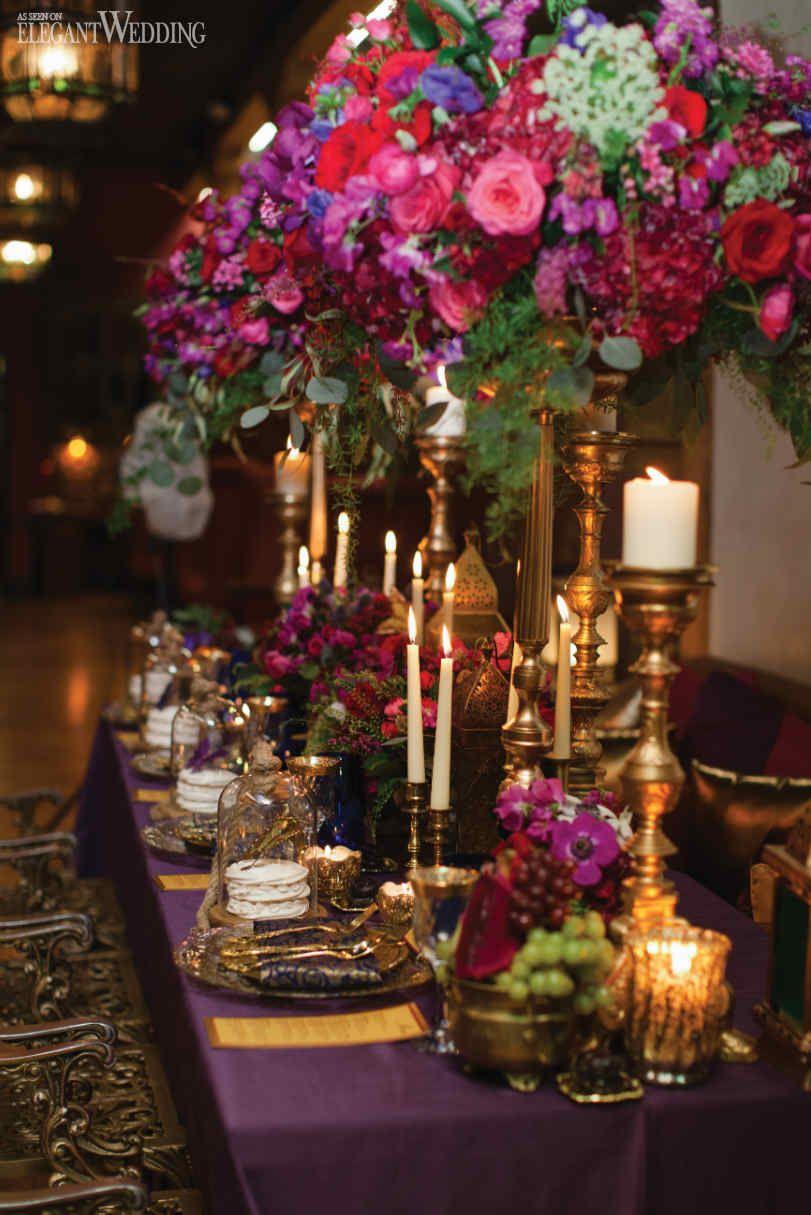 REGAL BOHO CHIC WEDDING IDEAS