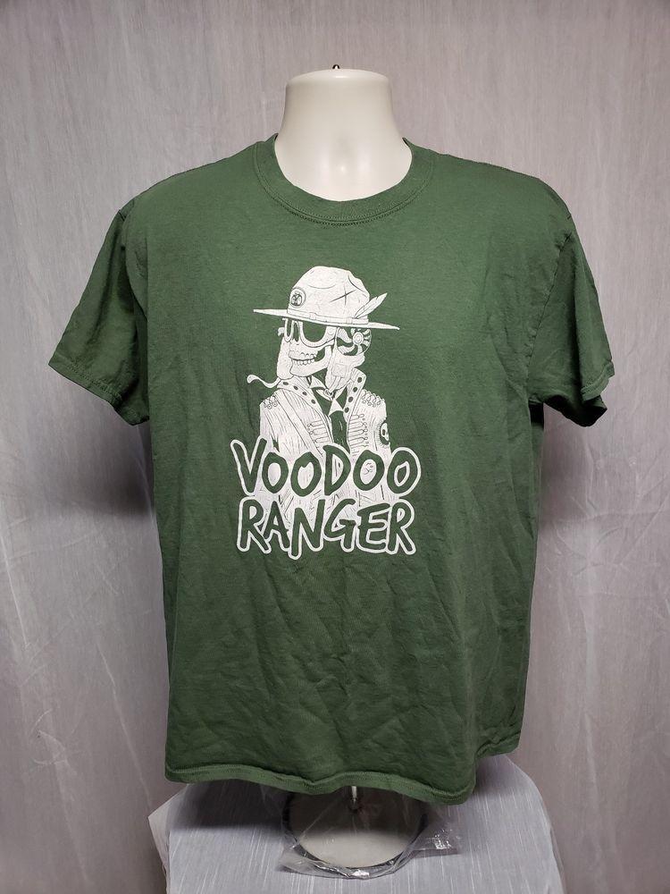 edd86ee68 Voodoo Ranger Adult Large Green TShirt  Gildan  GraphicTee