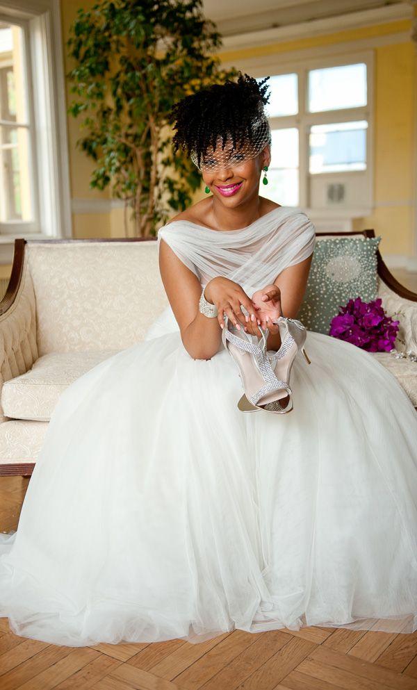 Natural Hair Inspiration For Black Brides Black Bride African