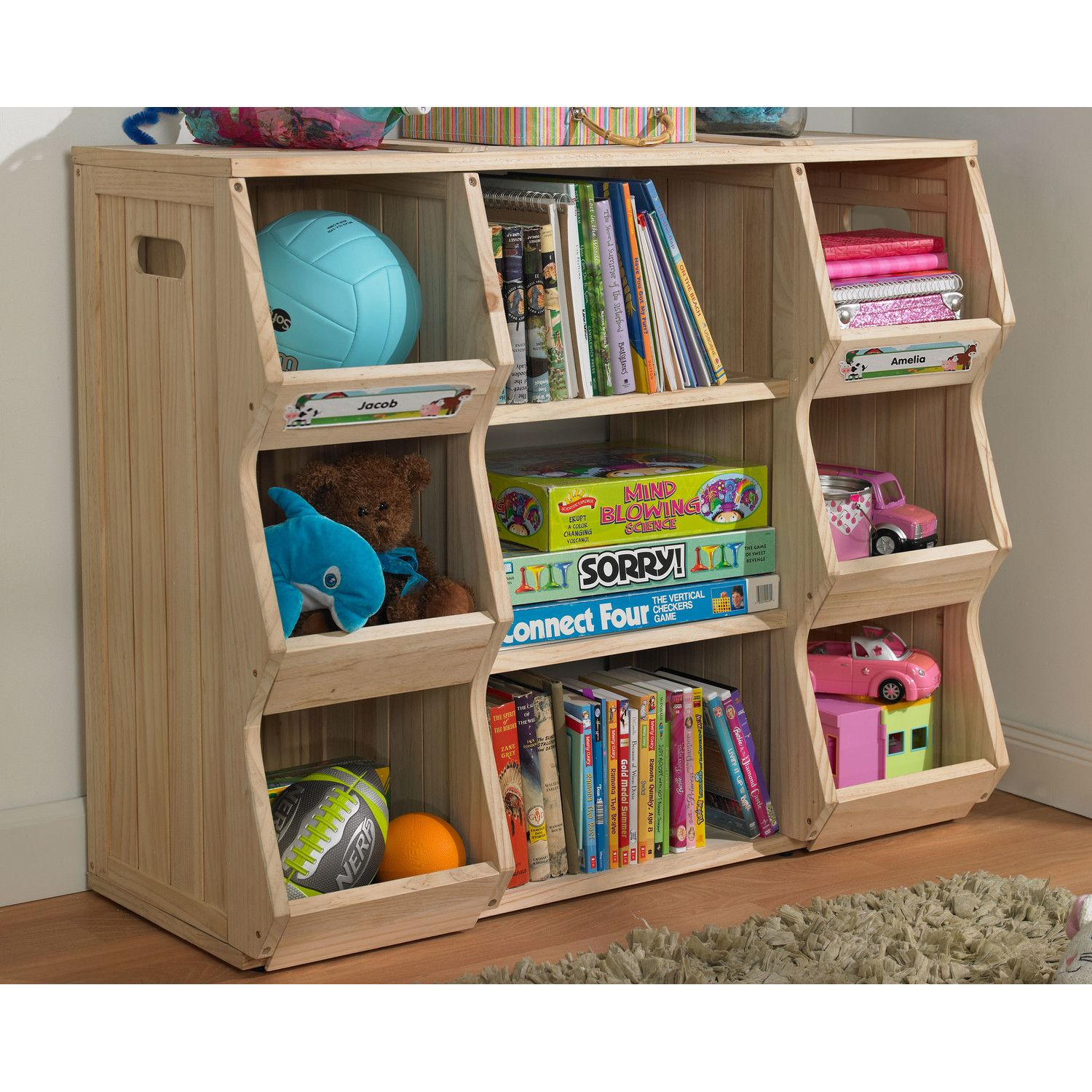 Merry Products Children S 37 Bookcase Reviews Wayfair