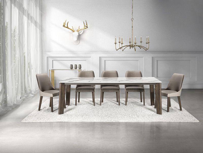Mystic Table Calacatta Porcelain Top Decor BlackFridayWeek Presale
