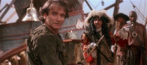 Jack wants Peter back | Robin williams, Peter pan, Hook ...