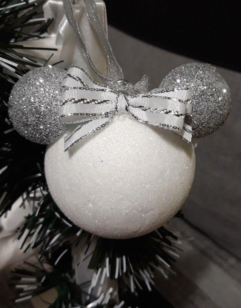 25+ White glitter ball ornaments inspirations