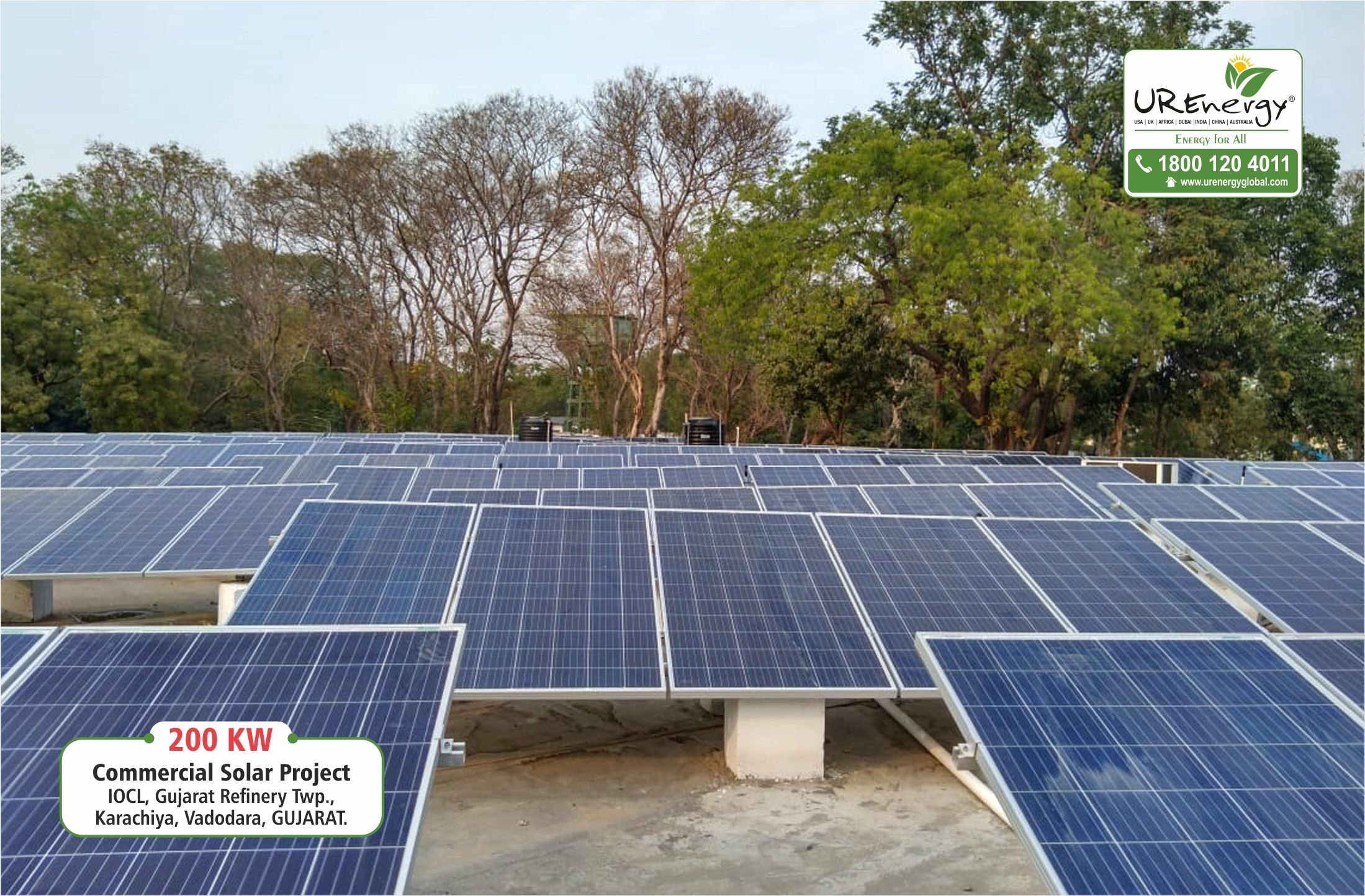 200 KW Commercial Rooftop Solar system installed by U