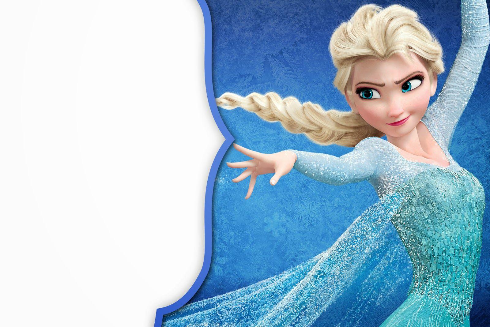 Frozen: Tarjetas o Invitaciones para Imprimir Gratis.   Cumpleaños ...