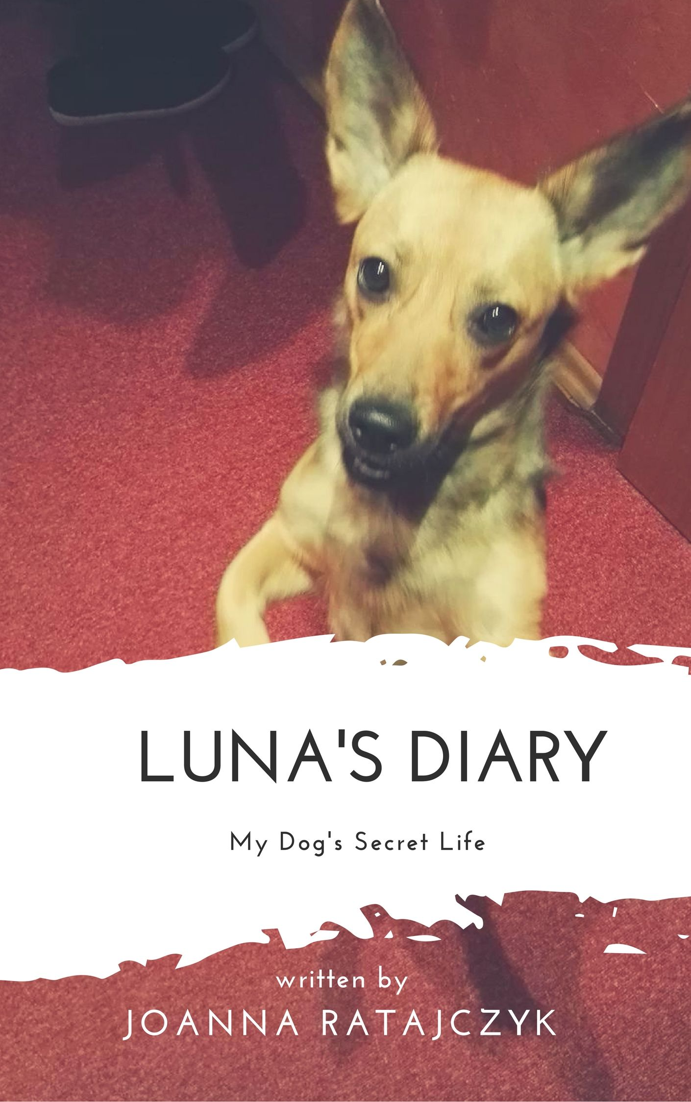 Dog's Diary My first own book! I have a pleasure to