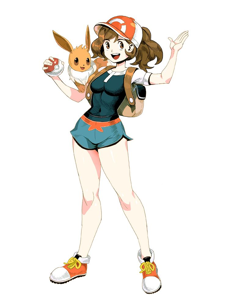 Pokemon Lets Go Trainer Girl By Https Genzoman Deviantart Com