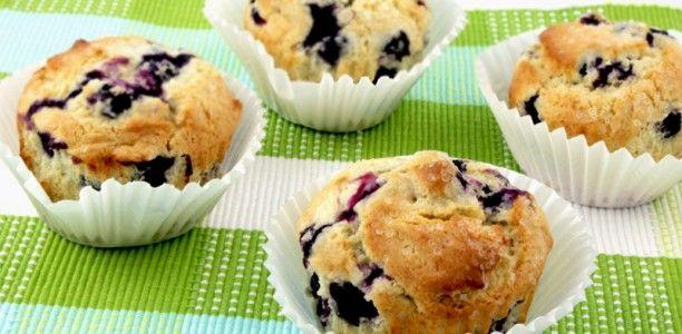 Banana & Blueberry Muffins. Morning meal muffins made of the wonderful banana, blueberries, cinnamon, and brown sugar. #banana #breakfast #diabetesrecipes