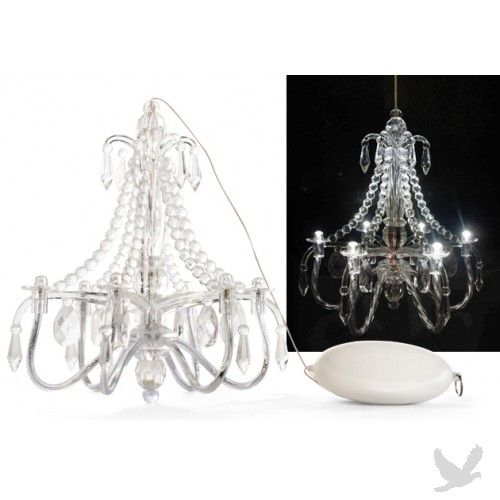 Mini led battery operated chandelier great for the playhouse mini led battery operated chandelier great for the playhouse aloadofball Image collections