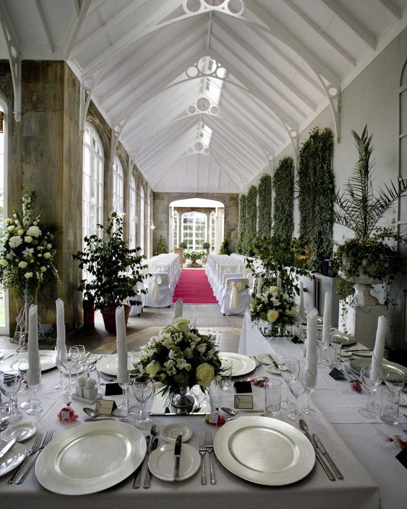 The West Wing Crom Castle Wedding Reception Northern Ireland