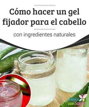 Cómo Hacer Un Gel Fijador Para El Cabello Con Ingredientes Naturales Mejor Con Salud Fijador Para El Cabello Gel Para Cabello Productos Para Cabello Rizado