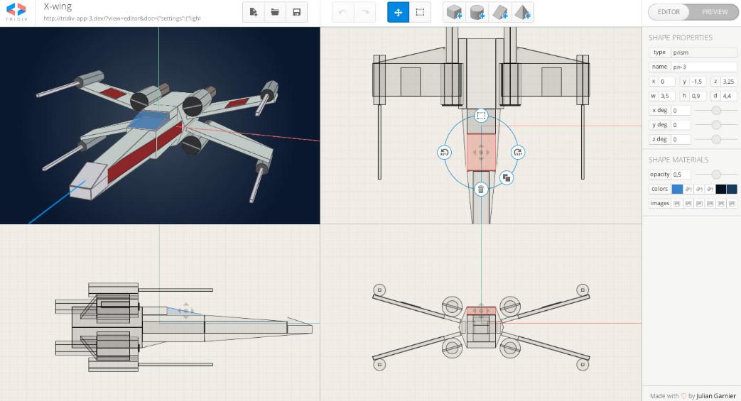 Tridiv CSS 3D Editor Web design tips, Coding tutorials