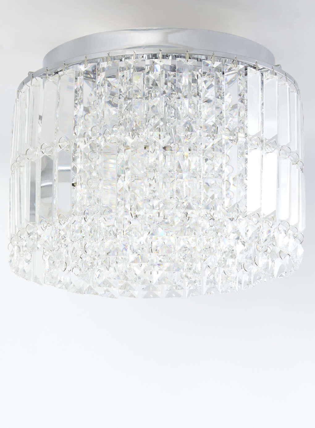 Photo 1 of Clear Mae Flush Ceiling Light   Lighting   Pinterest