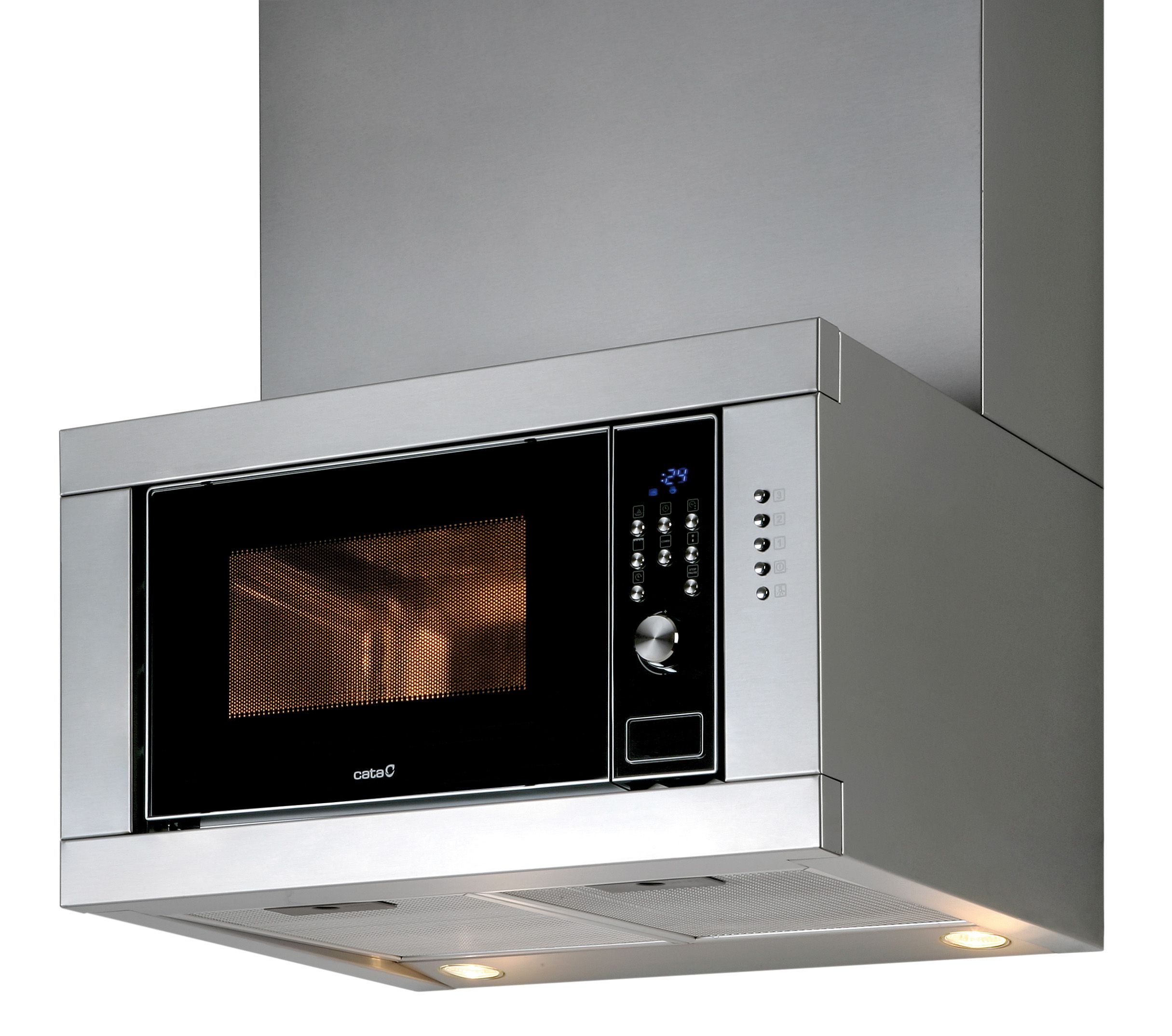 Campana Extractora Con Microondas Integrado Buen Invento Campana Kitchen Kitchen Appliances