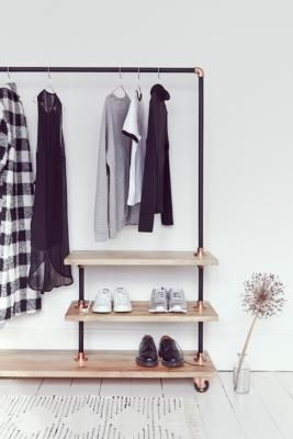Iron And Wood Clothes Rack In 2019 Interior Wg Zimmer