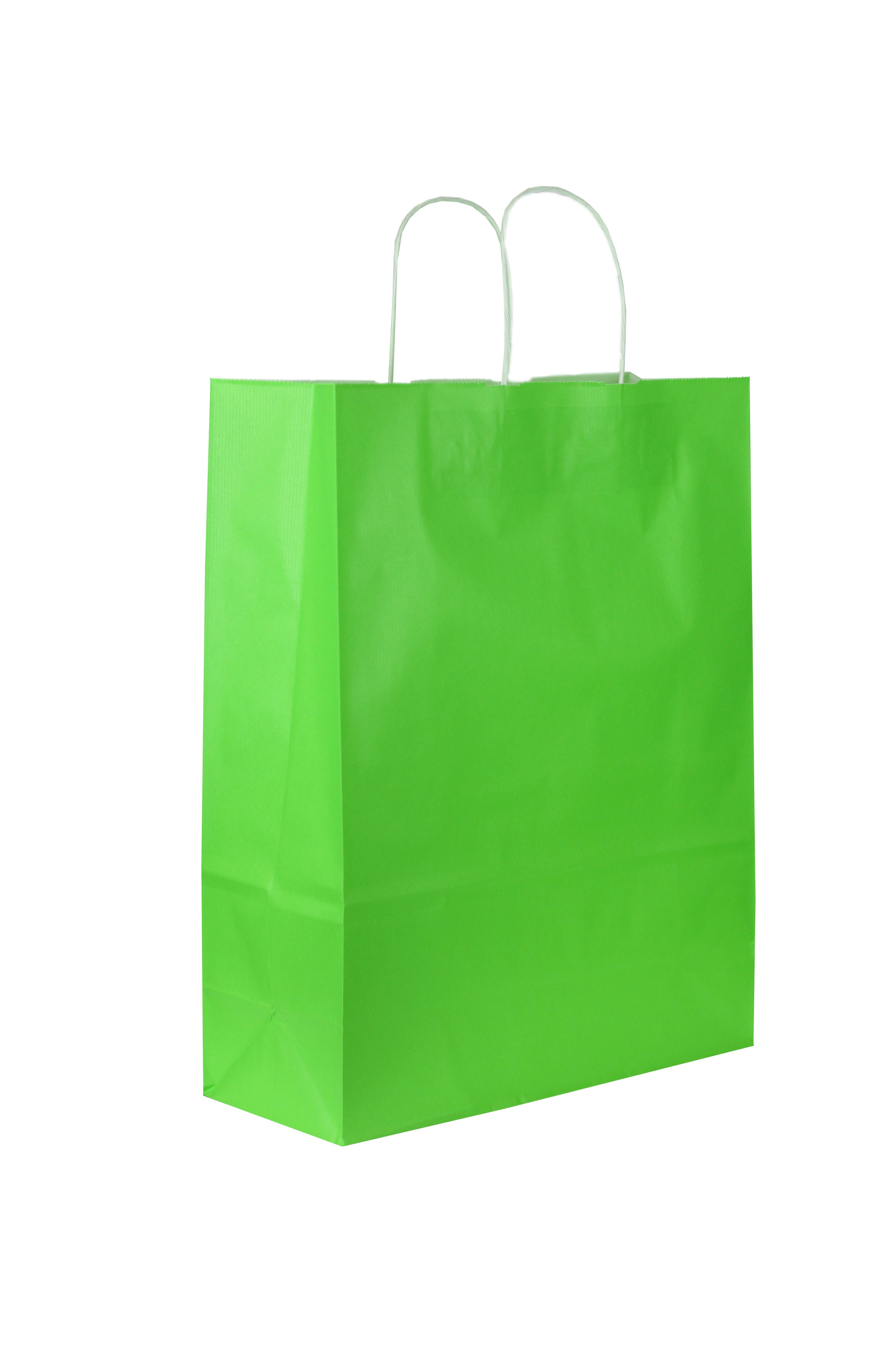 0923abbf0 Bolsa de papel asa rizada. Perfecto para boutique y tiendas de distintos  sectores. #