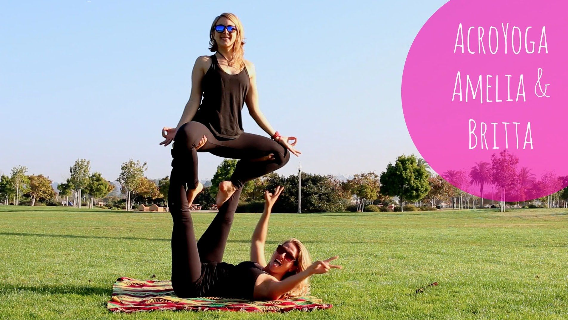 I love the @stokedyogi!! This video is so cute!  AcroYoga | Stoked Yogi | Amelia & Britta