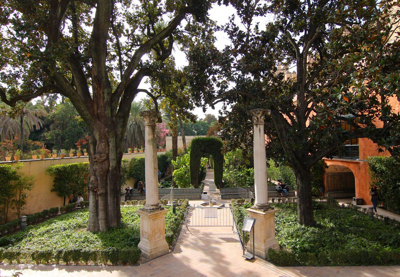 Alcazar Gardens Palace Seville Blog What to do