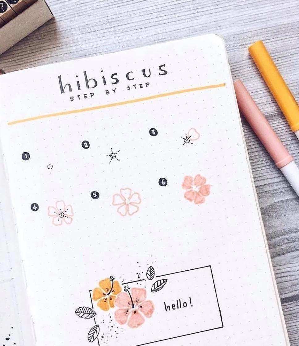 Flower doodle tutorial by @amizaomar | flower drawing tutorial | how to draw a hibiscus | a step by step guide how to draw a flower | how to doodle fl...#aamizaomar #amizaomar #doodle #draw #drawing #flower #guide #hibiscus #step #tutorial