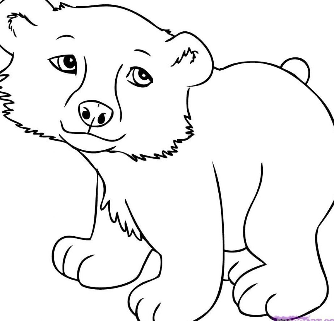 Cute Cartoon Animals To Colour Animal Coloring Pages Wild Animals Pictures Cartoon Drawings Of Animals