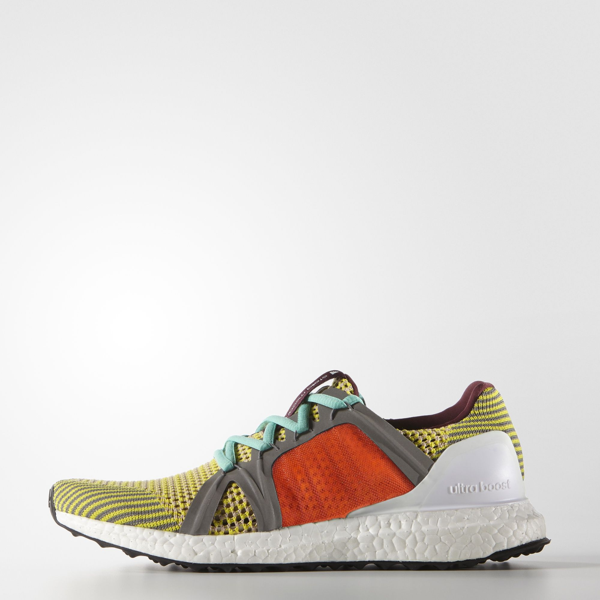 Designed to cruise through a 10K, these adidas by Stella McCartney Ultra  Boost Shoes come