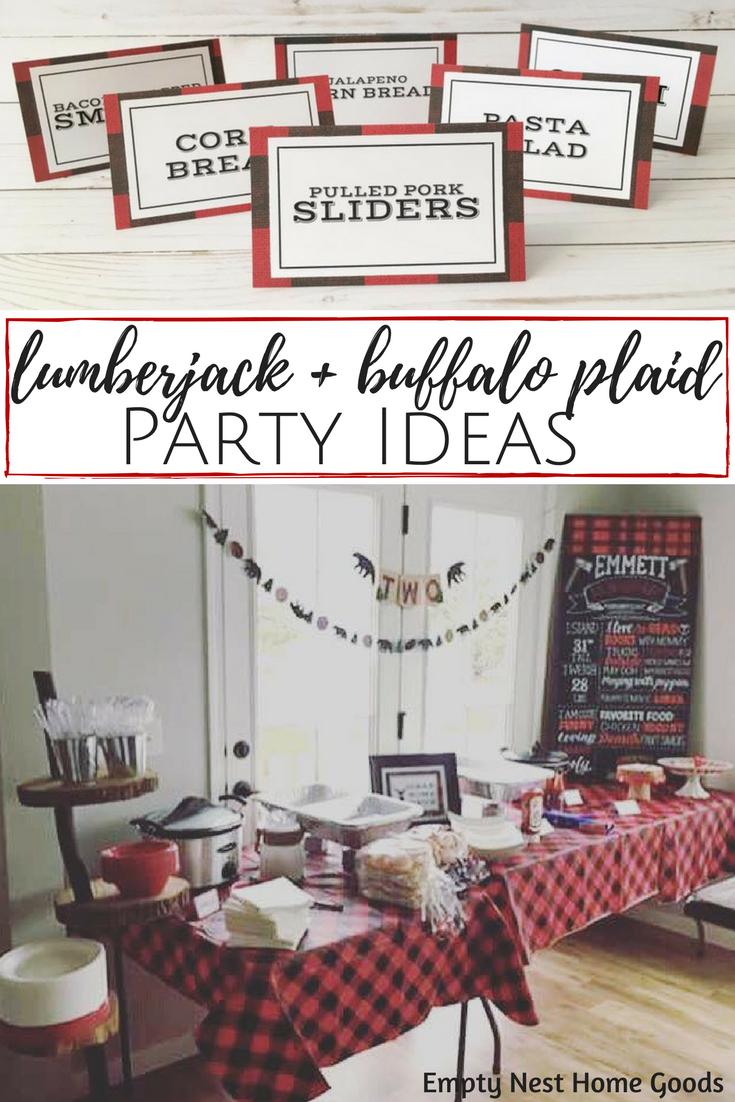 Lumberjack & Buffalo Plaid: Everything You Need for Your Woodsy ...