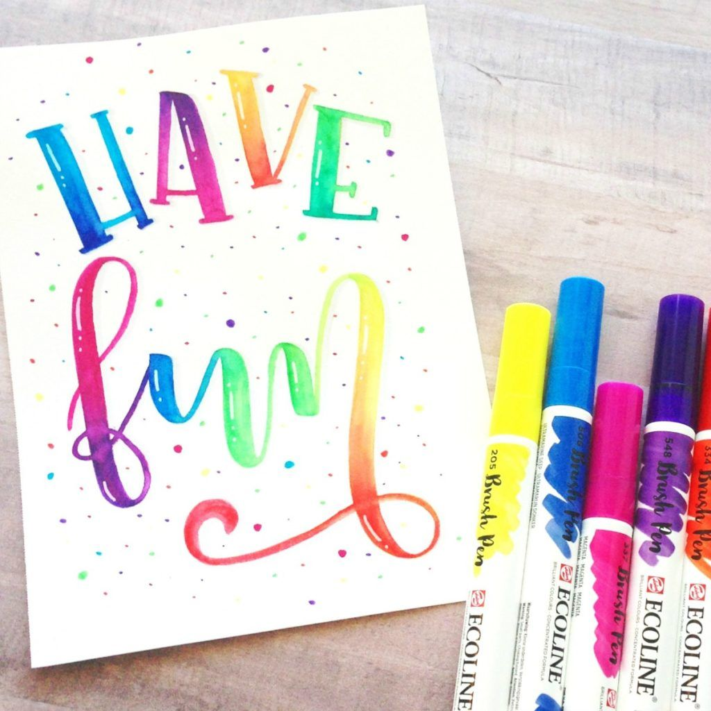 Best Hand Lettering Supplies And Tips For Beginners Hand