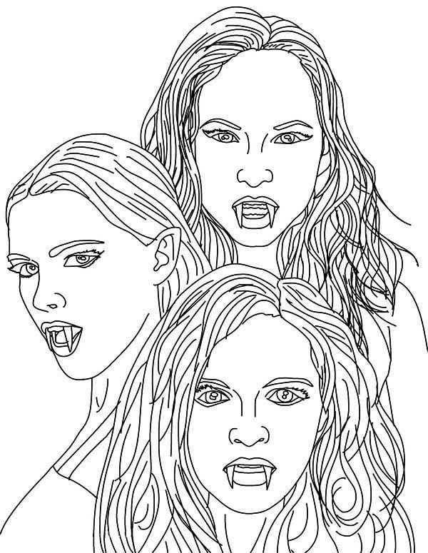celtic coloring pages vampire - photo#10