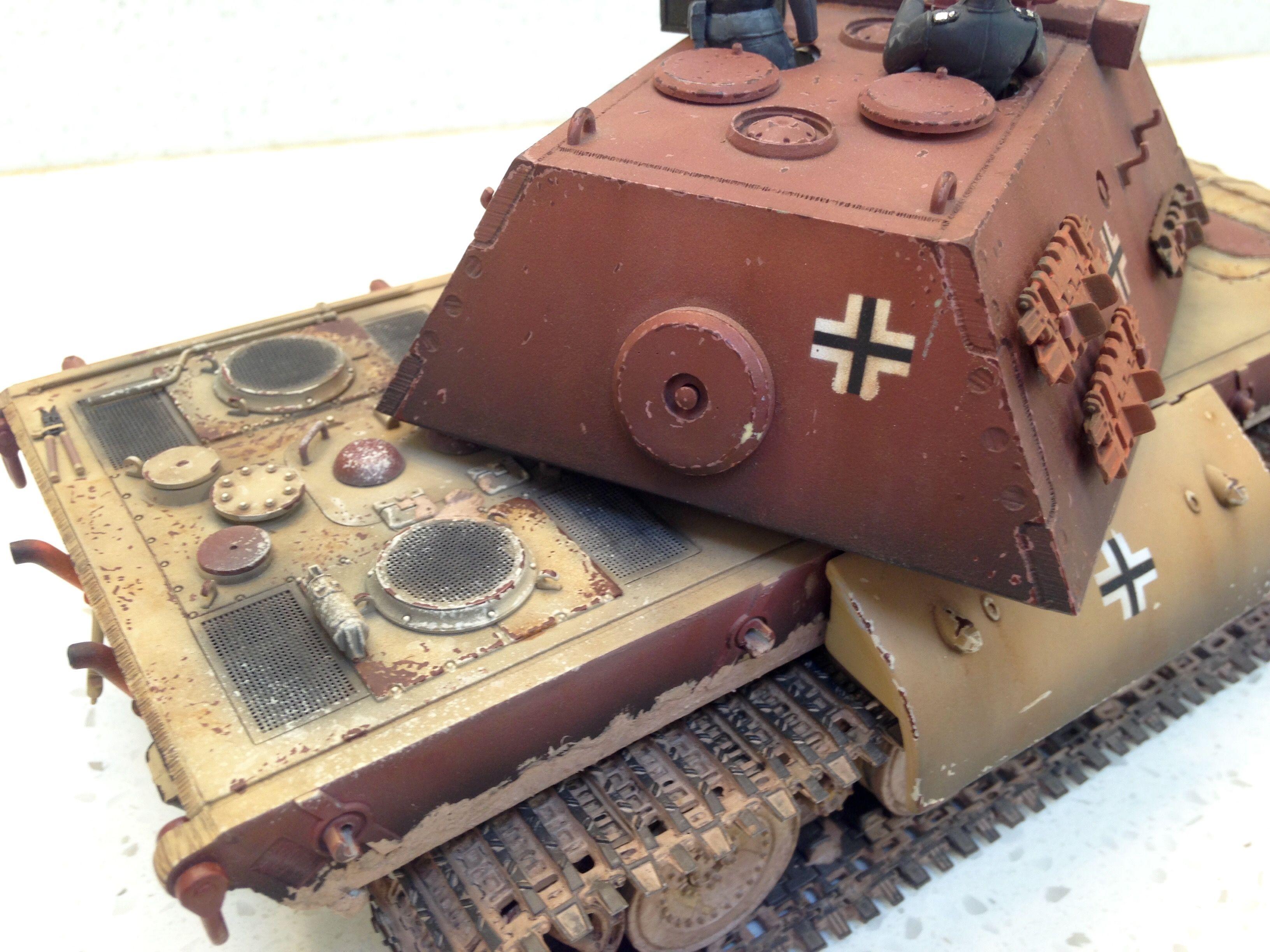 built 135 world of tanks tier 10 german e100 heavy tank with pak 15cm metal gun