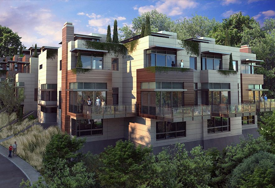 Modern Townhomes Google Search Urban Rows Townhouse