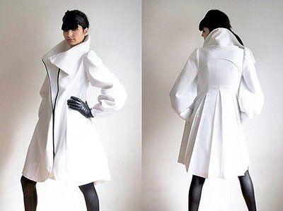 Designer White Coat - JacketIn