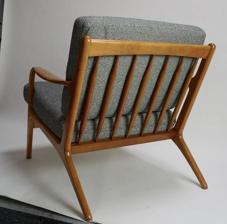 Antieke Lounge Stoel.1960 Adrian Pearsall Model 2315 C Bent Arm Lounge Chair Pair In 2019