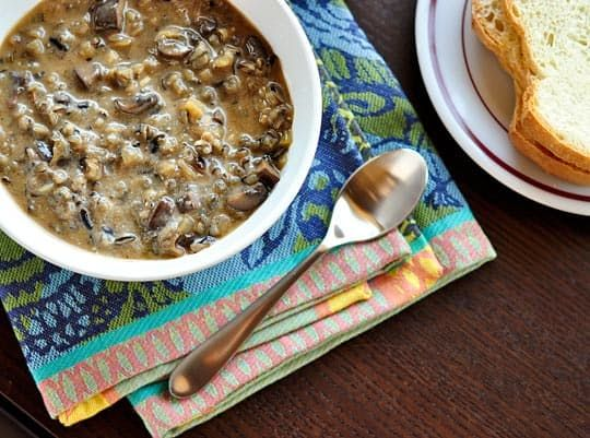 Recipe: Minnesota Wild Rice & Mushroom Soup — Recipes from The Kitchn