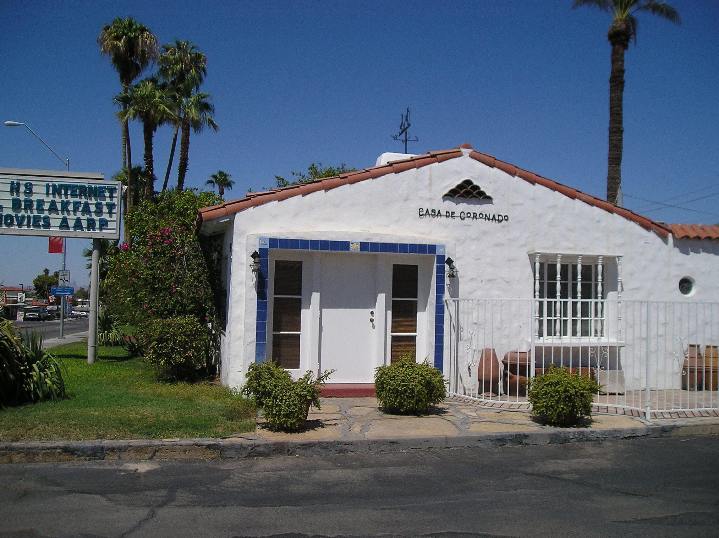 Casa de coronado museum is located in the center of the for Best western coronado motor hotel yuma az