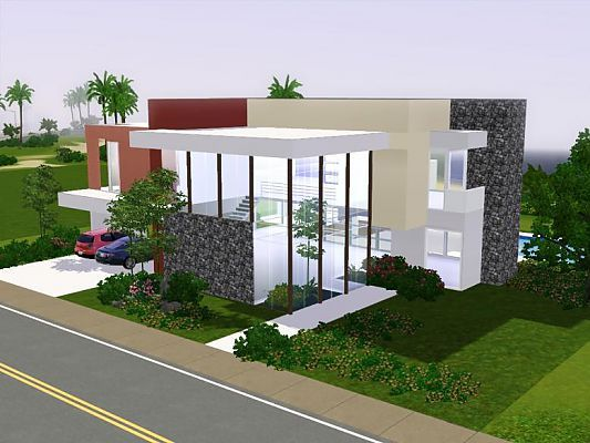 sims 3 houses   Sims 3 Updates - Sims 3 Modern Houses