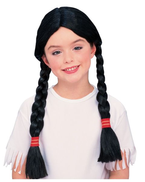 Girl Indian Wig Child