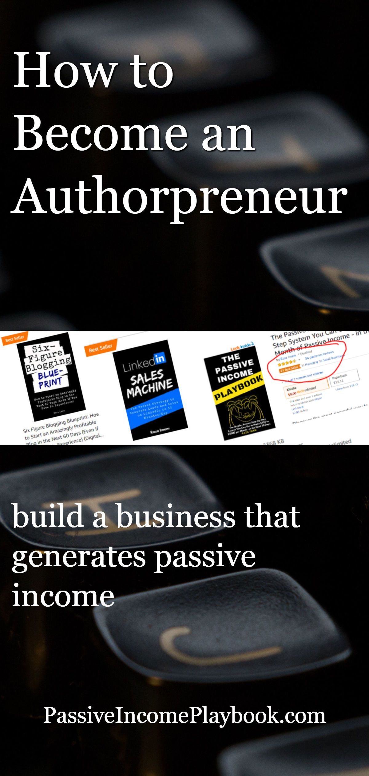 How To Become An Authorpreneur Learn How To Make Your Book A