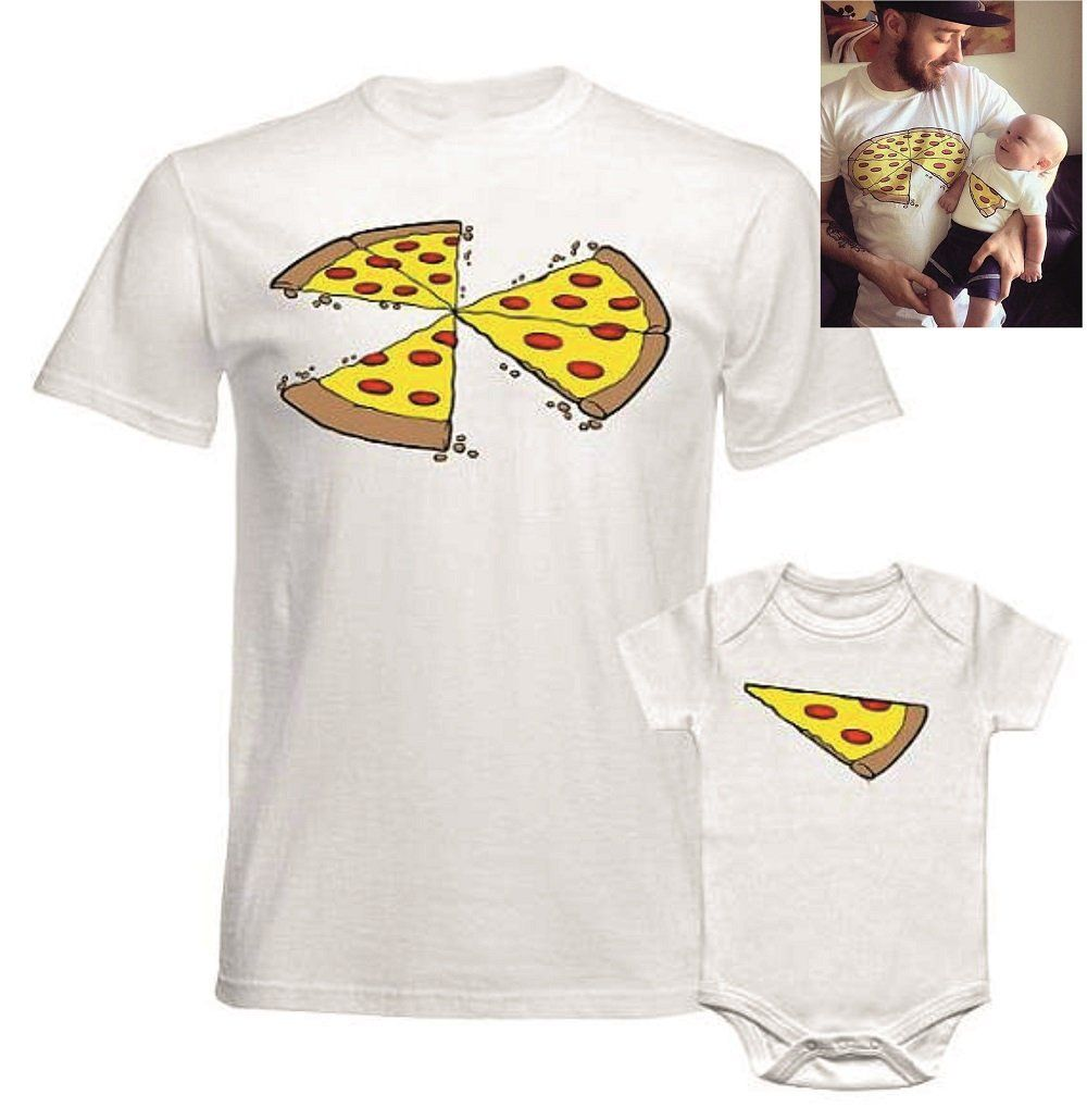 05674e2e4 Family Christmas Outfits Pizza Matching Shirts Daddy and me Shirts Twin  Triplets Matching Funny Dad Son shirts 1 2 3 Pizza Slices Missing by  SuperFavor on ...