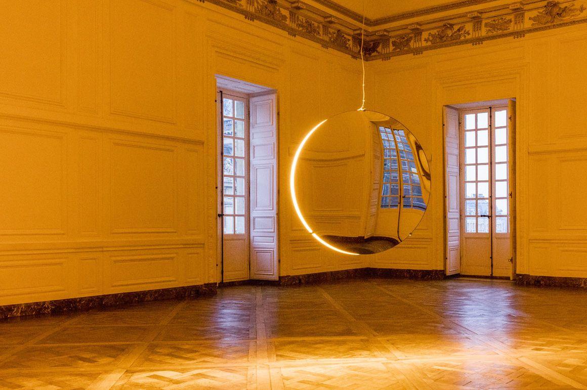 Solar Compression par Olafur Eliasson au Château de Versailles