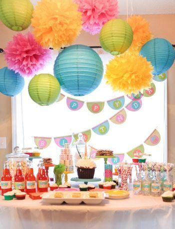 Decoracion Mesa Fiesta Infantil Fiesta Pinterest Birthday - Decoracion-mesas-fiestas