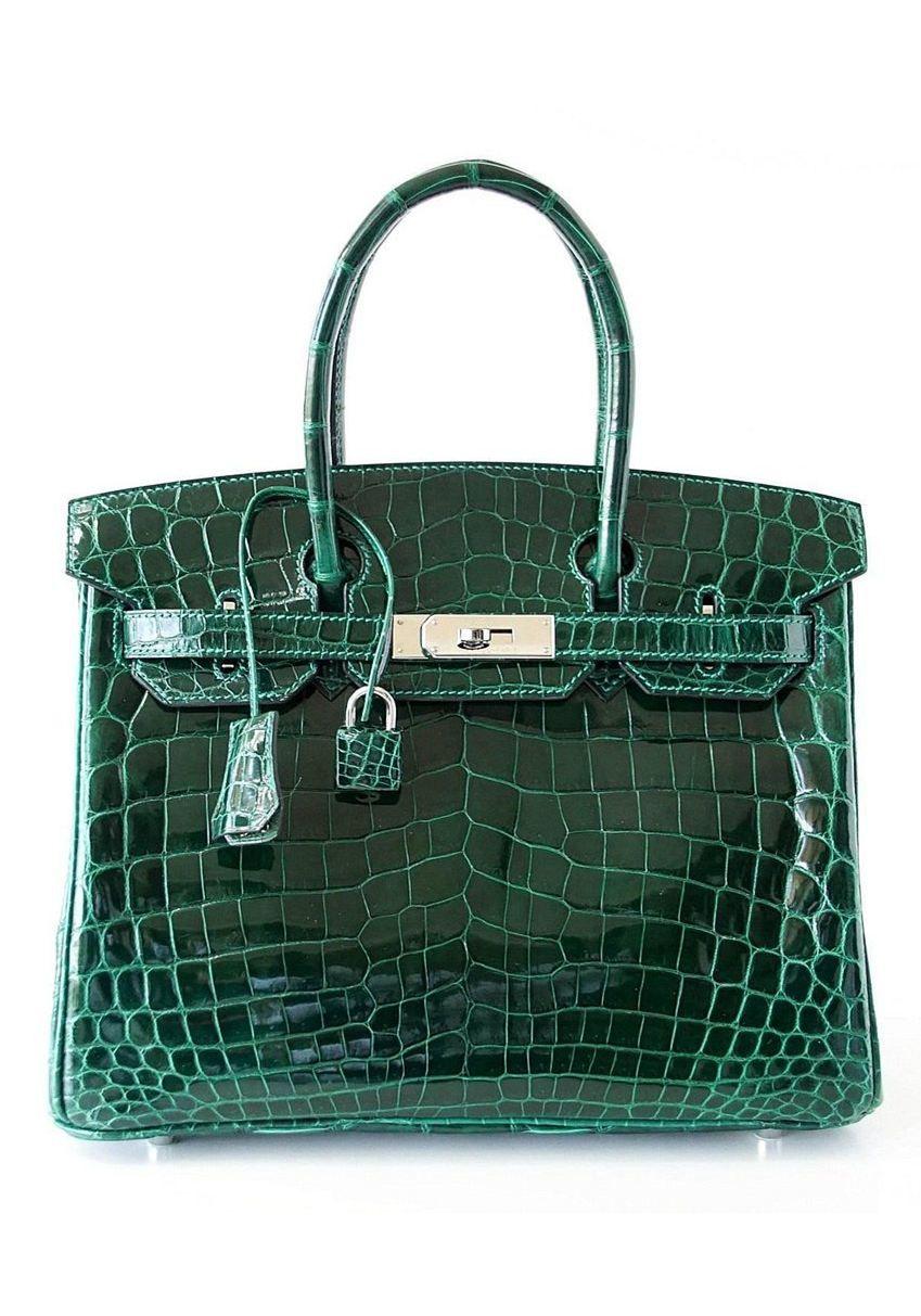 8e7a5af3c449 Special Offer! Luxury Genuine Alligator Handbag in 2019